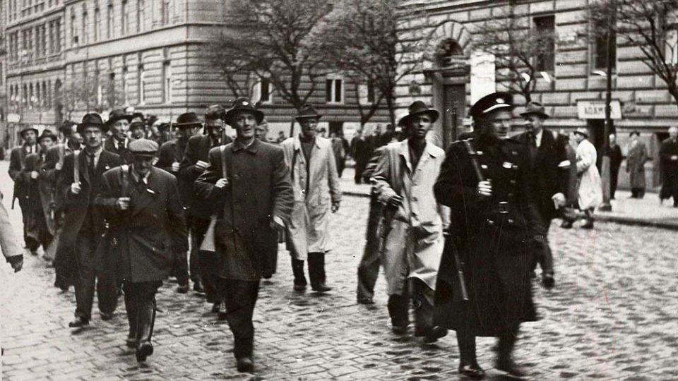 Bojovníci Pražského povstání