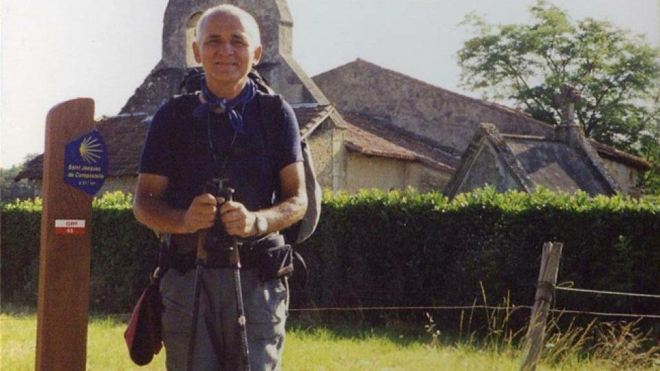 František Lízna na jihu Francie