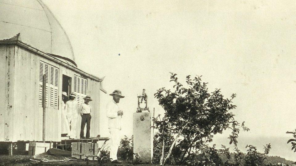Štefánikova hvězdárna na Tahity