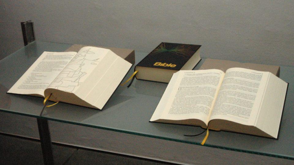 Bible21 s ilustracemi Aleše Lamra