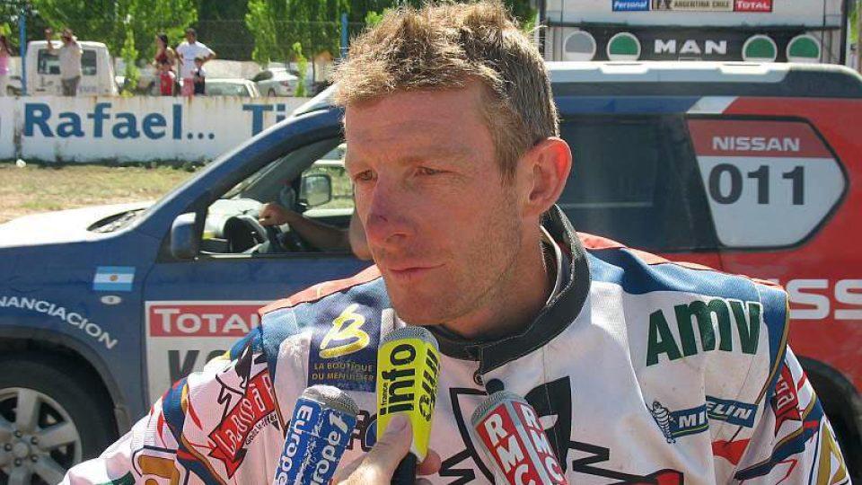Francouzská hvězda týmu Yamaha David Fretigne