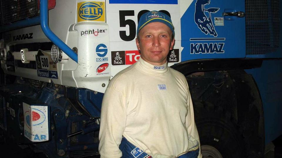 Král mezi piloty kamiónů Vladimir Chagin