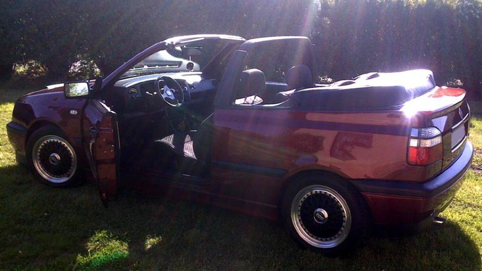 Golf III Cabrio (Ilustrační foto)