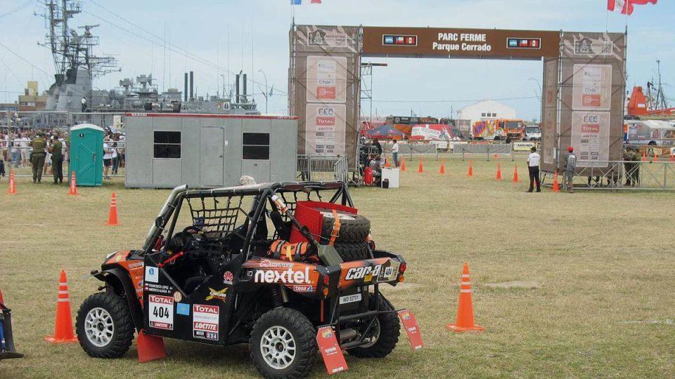 I s takovým vozítkem se dá postavit na start rallye Dakar