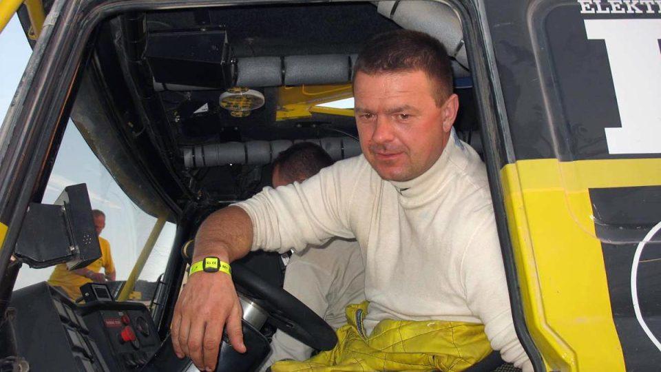 Jaroslav Vlatr byl nejrychlejší Čech v kamiónu v etapě do Aricy