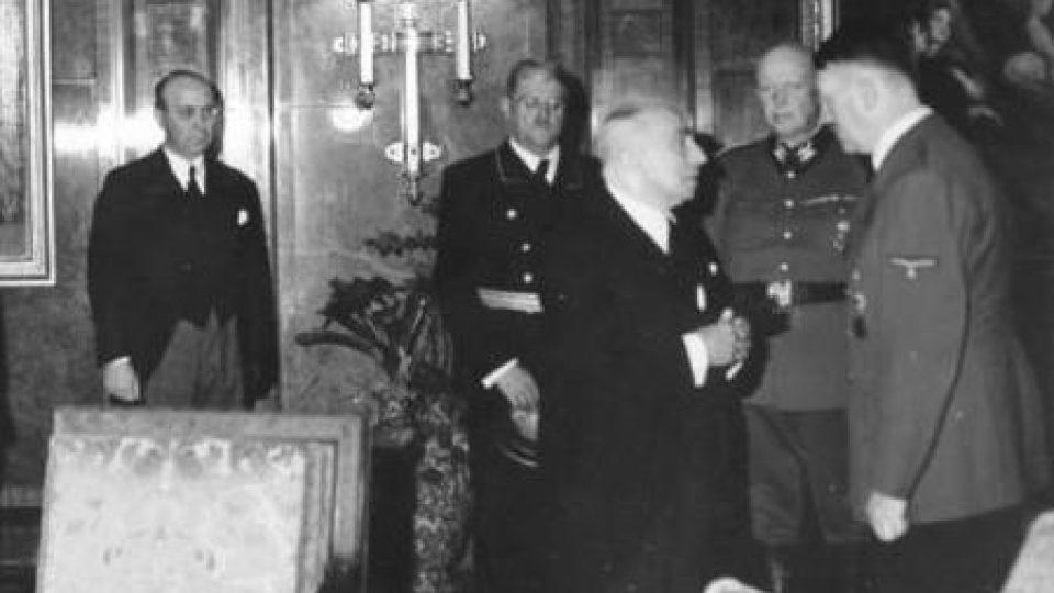 Emil Hacha u Hitlera 1939