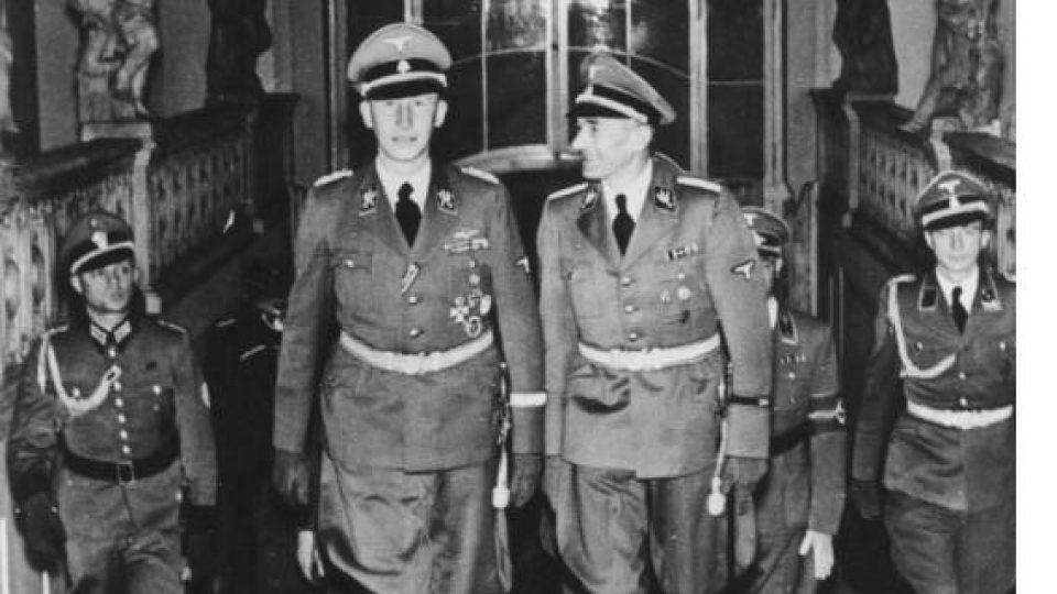 Reinhard Heydrich na Pražském hradě