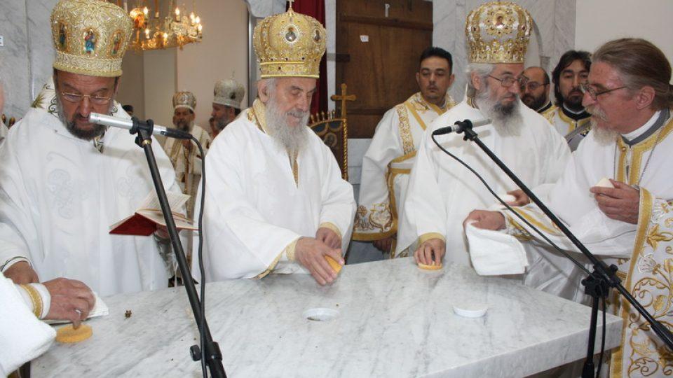 Vysvěcení chrámu sv. Sávy v Záhřebu