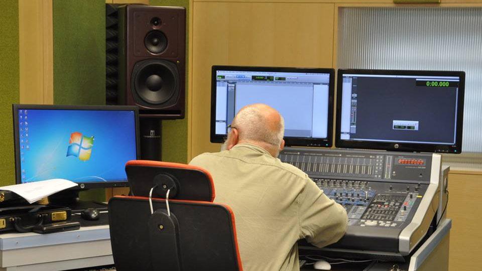 Mistr zvuku Tomáš Gsöllhofer v režii