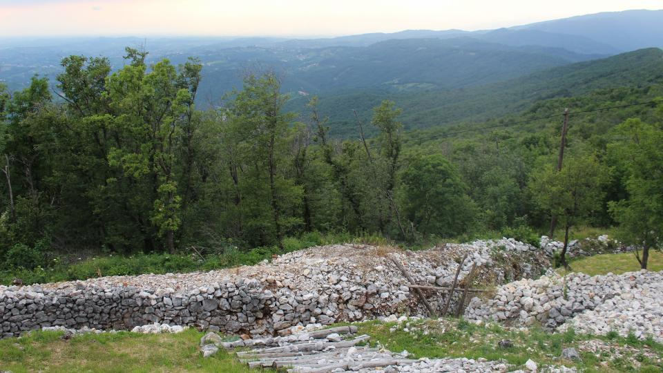 Zákopy na Sabotinu