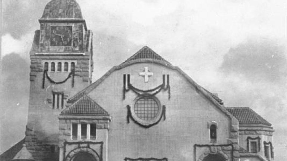 Kostel v Čching tao