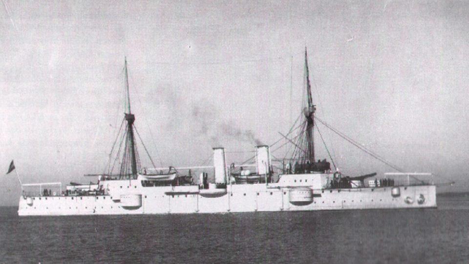 Rakousko-uherský křižník Kaiserin Elisabeth