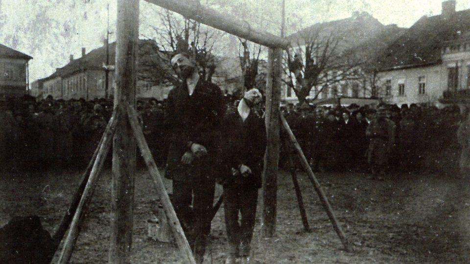 Wadowická poprava Josefa Müllera