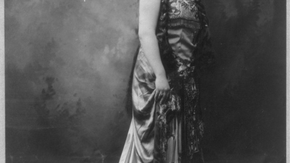 Ema Destinnová v roce 1909