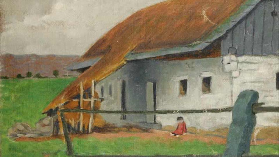 Herbert Masaryk, Venkovské stavení