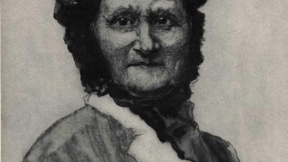 Portrét Terezie Masarykove od Hanuše Schwaigera