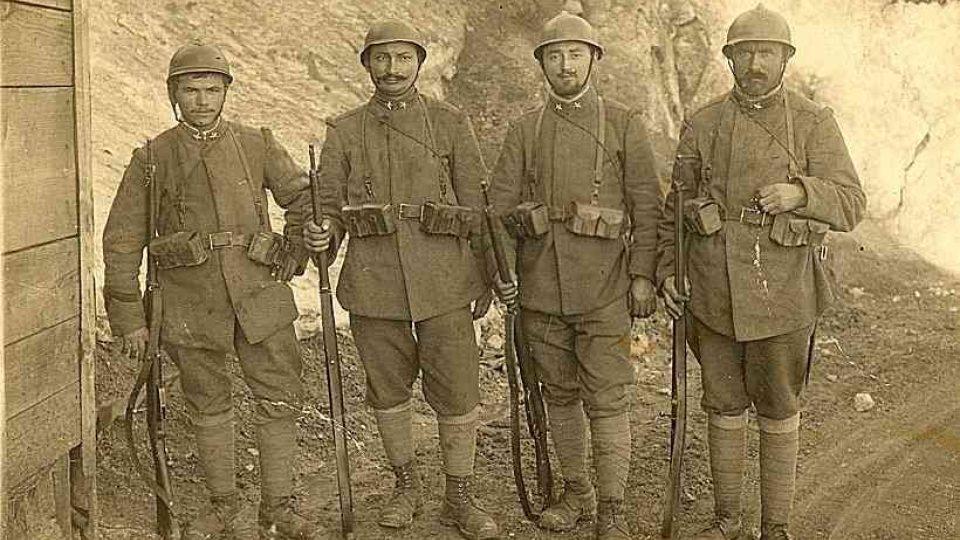 Italští vojáci v 1. světové válce
