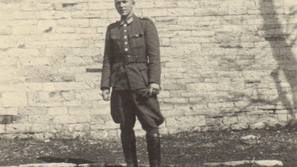 Vladislav Baudisch v Táboře v období protektorátu