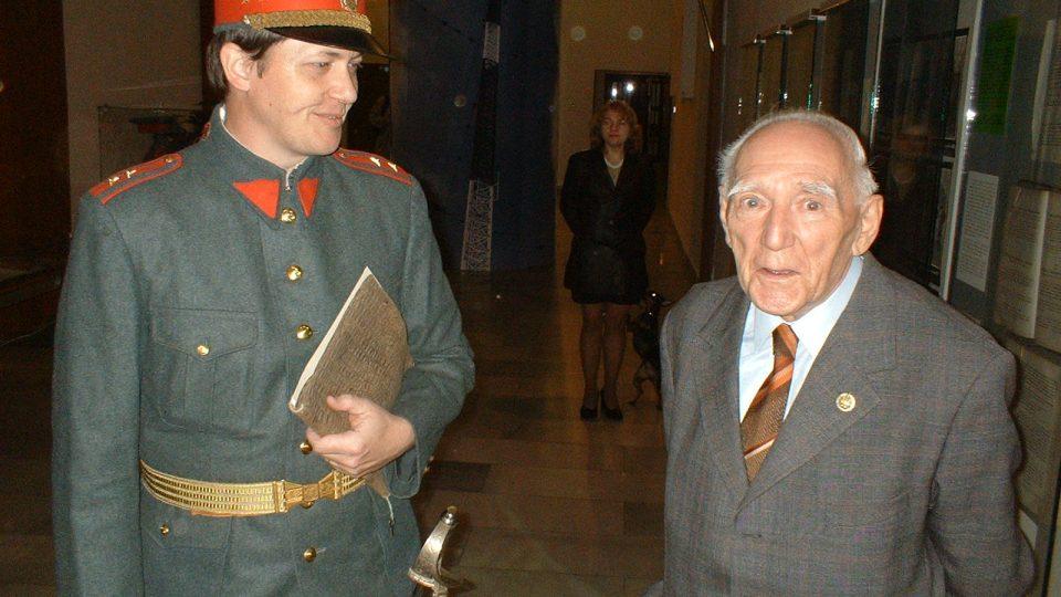 Vladislav Baudisch se zúčastnil založení Četnické pátrací stanice Praha v roce 2004