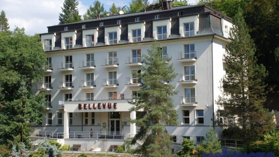 Hotel Bellevue v Karlových Varech projektoval architekt Rudolf Wels