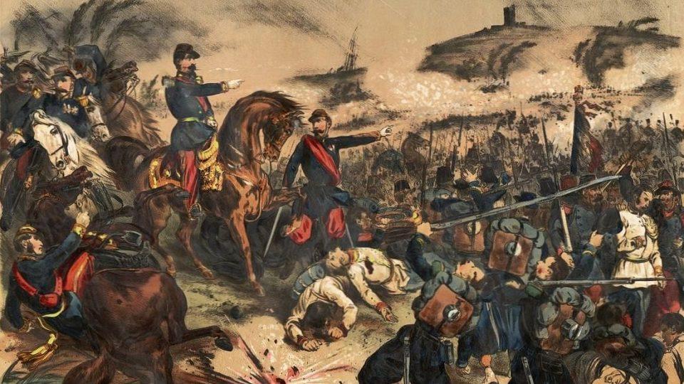 Bitva u Solferina 24. června 1859