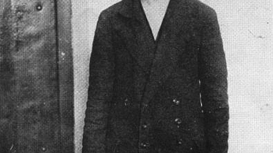 Sarajevský atentátník Gavrilo Princip v terezínském vězení