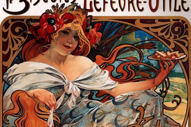 Plakát Alfonse Muchy (1896)