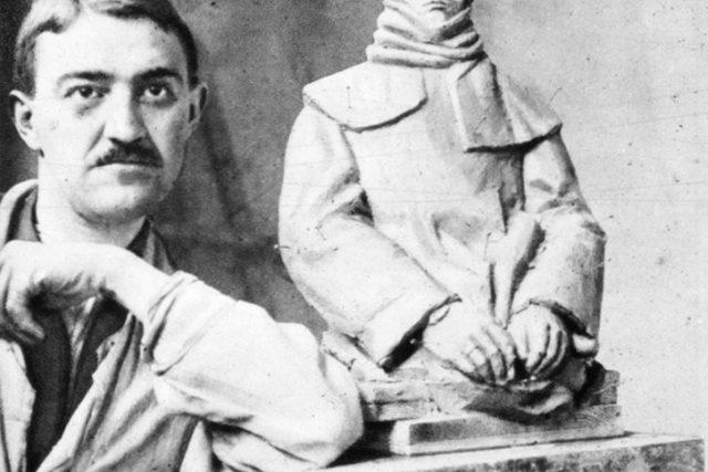 Jan Štursa v roce 1915 | foto: Wikipedia,  public domain - volné dílo