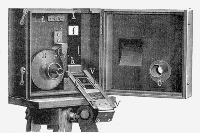 Kinematograf z konce 19. století